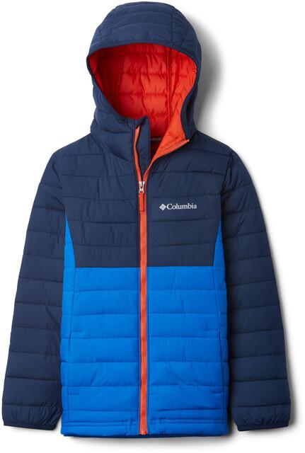 L COLUMBIA Big Boy/'s S XL Super Blue Powder Lite Jacket $110
